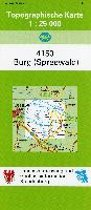 Burg (Spreewald) 1 : 25 000
