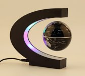 Zwevende Wereldbol met Led lamp verlichting - C-Vorm
