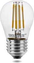 Groenovatie LED Filament Kogellamp - 4W - E27 Fitting - 81x45 mm - Extra Warm Wit - Dimbaar