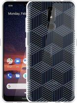 Nokia 3.2 Hoesje Isometric Pattern