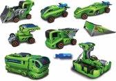 POWERplus Butterfly, educatief speelgoed, bouwpakket met hybride energie, solar en batterij