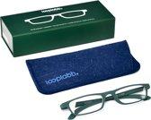 Looplabb. Ulysses Leesbril - Groen - Sterkte: +1.50