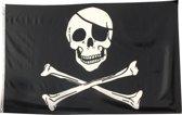 Trasal - vlag piraat - 150x90cm