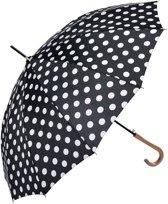 Paraplu ø 93*90 cm Zwart   MLUM0025Z   Clayre & Eef