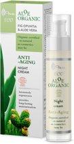 AVA Cosmetics - Aloe Organic - Anti-aging Night Cream 50ml.