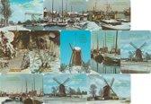 100 Nostalgische Kerst en Nieuwjaars Ansichtkaarten
