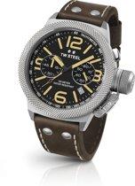 TW Steel CS33 Canteen Collection - Horloge -  45 mm - Bruin
