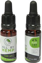 All by Hemp 4% CBD olie (10ml)