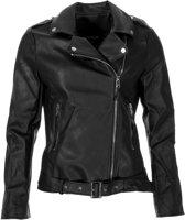 Colourful Rebel Biker Jacket  Jas - Maat L  - Vrouwen - zwart