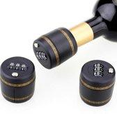 Wijn Slot - Flessenslot - Cijfercombinatie