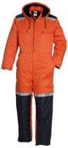 Havep winteroverall maat 48 2206 oranje/blauw