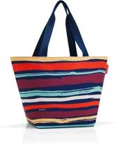 Reisenthel Shopper M Handtas - Shopper - Maat M - Polyester - 15L - Artiest Stripes Blauw