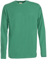 Printer Heavy T L/S Fresh green XL