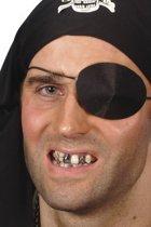 Zwarte make-up voor tand voor volwassenen Halloween - Schmink