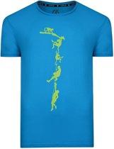 Dare 2b-Alarm Tee-Outdoorshirt-Mannen-MAAT XS-Blauw