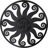 Wanddecoratie zon ø 99 cm Bruin | 5Y0494 | Clayre & Eef