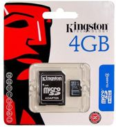 Micro SD 4GB Kingston