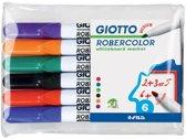 Whiteboardmarker Giotto Robercolor - Etui 6 stuks