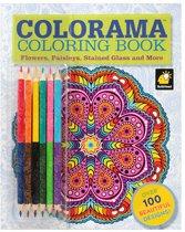 Colorama Coloring Set 61 pcs. - Mandala Kleurboek