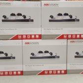 4 x IP bewakingscamera kit Plug & Play met recorder