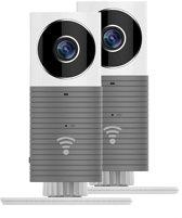 Duopack CleverDog WiFi camera's - Standaard - Grijs