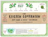 2019 the Kitchen Companion Page-A-Week Wall Calendar