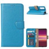 FONU Bookcase Sony Xperia 5 - Turquoise