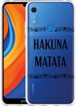 Huawei Y6s Hoesje Hakuna Matata black