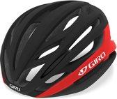 Giro Syntax Fietshelm, matte black/bright red Hoofdomtrek S | 51-55cm