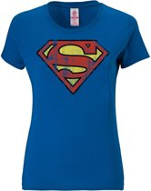 Superman shirt dames - Medium