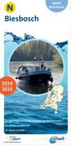 ANWB waterkaart N - Biesbosch 2014-2015