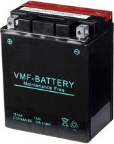 VMF Powersport Liquifix accu 12 V 12 Ah