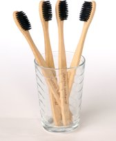 Smile Natural I Bamboe tandenborstel (4 stuks)