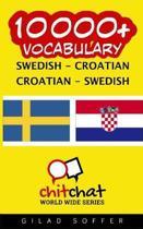 10000+ Swedish - Croatian Croatian - Swedish Vocabulary