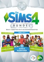 De Sims 4: Bundel Pack 11 (Jungle Avonturen + Fitness- en Peuter Accessoires (Code in a Box) PC / MAC