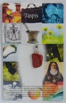 Spirituele hangersteen Jaspis Rood