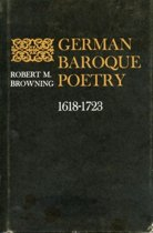 German Baroque Poetry, 1618-1723