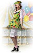Volwassenenkostuum Clown Fiesta - Maat M