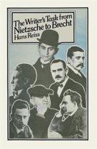 The Writer's Task from Nietzsche to Brecht