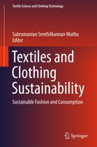 Omslag van 'Textiles and Clothing Sustainability'