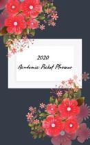 2020 Academic Pocket Planner: Yearly calendar Planner - January - December 2020 For To do list Planners And Academic Agenda Schedule Organizer. Oran