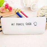 Witte Pennen etui - Witte Etui - Witte Pencil Case