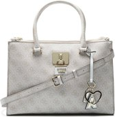 GUESS Downtown Cool Status Stone Handtas - Wit c73500aceb07f