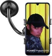 Shop4 - Huawei P Smart 2019 Autohouder Autohouder Klem Zwart