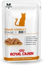 Royal Canin Senior Consult-Stage 1 - Maaltijdzakjes - vanaf 7 jaar - Kattenvoer - 12 x 100 g
