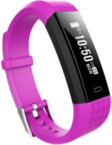 Sinji Activity Tracker Hartslagmeter - Waterdicht Dames - Heren - Purple