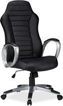 relaxdays bureaustoel ergonomisch - computerstoel - directiestoel hoogte verstelbaar zwart