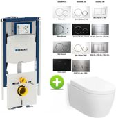 GEBERIT UP320 112H TOILET SET MET CAROSA ONE-PACK DESIGN 48 CM