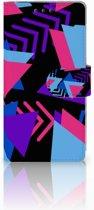Sony Xperia X Performance Bookcase Design Funky Triangle