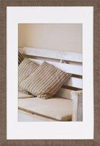Henzo DRIFTWOOD - Fotolijst - 40 x 60 cm - Fotoformaat 40 x 60 / 30 x 45 cm - Bruin